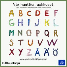 Värinauttien aakkoset nyt netissä! Kids Room Organization, Early Childhood Education, Kids Rooms, Words, Peda, Early Education, Child Room, Kidsroom, Early Years Education