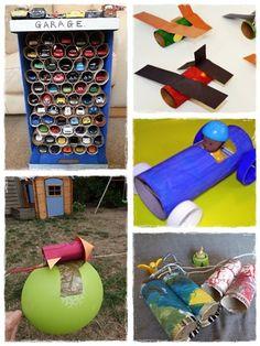jouet fait maison Diy Jouet Pour Chat, Garage, Crafts For Kids, Activities, Inspirer, Diy Projects, Homemade, Pet Supplies, Garages