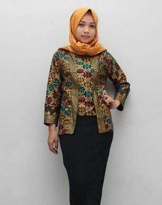 30 Model Baju Batik Guru Seragam Terbaru - Model Baju Muslim Kebaya Modern 84d6fa701e