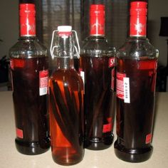 Home made vanilla.  Use Potato vodka if avoiding corn, use grape vodka (Ciroq) if avoiding both. : )
