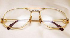 818d2f1768281 Cartier Men s Aviator Sunglasses Eyeglasses Frames ! Very rare