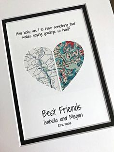 Best Friend Going Away Gift - Personalized Christmas Gifts for Friends - Gift Fo. Best Friend Going Away Gift – Personalized Christmas Gifts for Friends – Gift For Best Friends- Personalised Gifts For Friends, Personalized Christmas Gifts, Personalized Wedding, Regalos Para Bf, Diy Gifts For Christmas, Best Friend Christmas Gifts, Christmas Presents For Bestfriend, Christmas Cards, Christmas Baskets