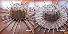 Skúšali ste to u niekedy? Willow Weaving, Basket Weaving, Diy And Crafts, Arts And Crafts, Paper Crafts, Grandma Crafts, Newspaper Basket, Macrame Art, Basket Decoration