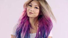 Colorista Mermaid Style : Dirty Blonde Hair + Purple Hair + Blue Hair. Pastels : Peach Hair, Pink Hair. Pointes : Turquoise Hair, Aqua Hair.