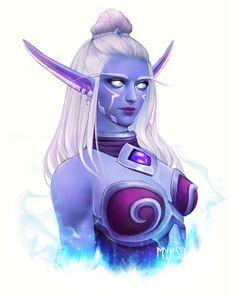 the Ally by on DeviantArt New Fantasy, Fantasy Warrior, Fantasy Girl, World Of Warcraft Characters, Dnd Characters, Character Drawing, Character Concept, Elf Art, Warcraft Art