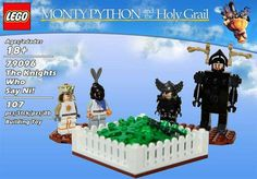 concept set  - This phenomenal LEGO concept set has a very special movie theme. The name of this product is the LEGO Monty Python and The Holy Grail set. This mov...