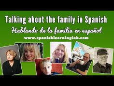 "Learn how the different members of the family in Spanish with several pictures, audios and examples. Find a family tree in Spanish including the most common relatives in Spanish like mamá, papa, hermano, hermana, hijos, tíos, abuelos and more. Learn a few rules about Spanish nouns and some common verbs to talk about ""la familia"". ¡Qué tengas un gran día!"