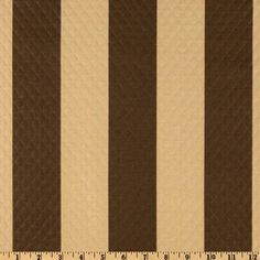 boys rollers..Waverly Sun N Shade Quilted Solstice Chocolate - Discount Designer Fabric - Fabric.com