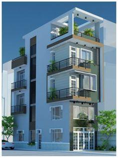 không gian mẫu nhà phố đẹp thiết kế đẹp