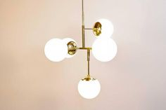 Jeam Brass Chandelier