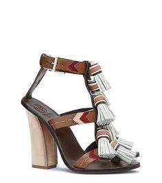 afa7048b8fd11 Visit Tory Burch to shop for Weaver Tassel Sandal and more Womens Sale.  Find designer shoes