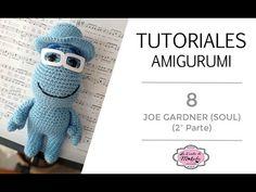 🍀 TUTORIAL AMIGURUMI 8: JOE GARDNER Amigurumi (2ª parte) | Película SOUL Disney-Pixar | PASO a PASO - YouTube