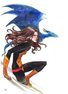 kitty pryde by stephanie hans #Kitty Pryde #Lockheed #x-men
