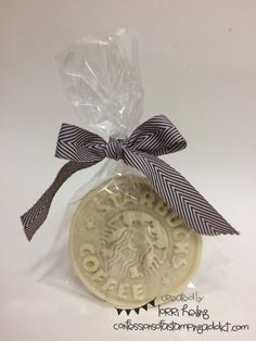 More Founder's Circle Photos – Coffee Themed Gift :: Confessions of a Stamping Addict Starbucks Cookies Handmade with cookie cutter I bought! Lorri Heiling