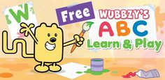 Smart Apps For Android: Wubbzy's ABC Learn & Play (best free Android apps for kids)