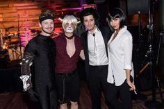 Pin for Later: Toujours Pas de Costume Pour Halloween? Ces Célébrités Vont Vous Donner des Idées Chris Colfer Déguisé En Grumpy Cat