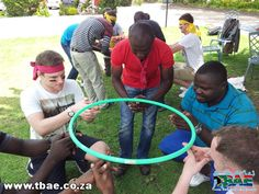 Hoola Hoop Down Team Building Exercise