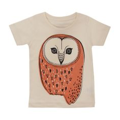 HONEY TEE / OWL | online store amabro