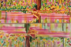 """< color of river > 2003年 綿布にアクリル 2点組・各113.5×340 金沢21世紀美術館"""" border=""""0″ /><br />< color of river > 2003年 綿布にアクリル 2点組・各113.5×340 金沢21世紀美術館</p> <p class="""
