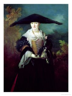 La Belle Strasbourgeoise, Possibly the Nuptial Portrait of the Artist's Sister Marie-Elizabeth 1703