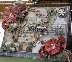 Hello today I would like to share with you a couple Christmas Cards I made using 49 and Market's Beautiful new Winters Edge Collection. Scrapbooking Freebies, Digital Scrapbooking, Christmas Couple, Christmas Cards, Scrapbook Cards, Embellishments, Believe, Floral Wreath, Magic