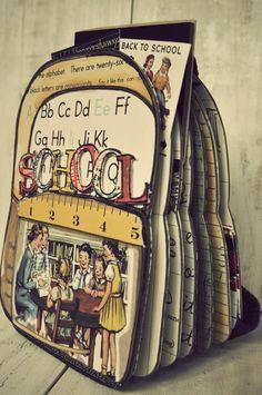Back to school - album #scrapbook #Octoberafternoon