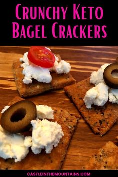 Crispy and delicious Everything Bagel Spice crackers. easy to make Just 3 ingerdienst - cheese, almond flour, and spice. #easyketo #ketocrackers #lowcarbsnack Cheese Cracker Recipe, Keto Bagels, Everything Bagel, Vegetarian Cheese, Diet And Nutrition, 3 Ingredients, Almond Flour, Crackers, Low Carb Recipes