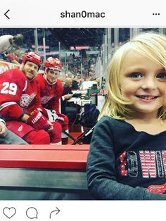The photo seen on every website and on major news networks of Detroit Red Wings' Steve Ott and Dylan Larkin photo bombing a metro Detroit four year old,once again proves that not only are hockey players the best athletes but some of the best humans too.In particular those who wear the Winged Wheel.