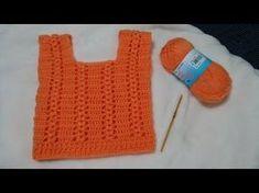 Crochet Girls, Diy Crochet, Crochet Baby, Black Crochet Dress, Crochet Poncho, Crochet Shorts Pattern, Tricot Baby, Baby Vest, Baby Sweaters