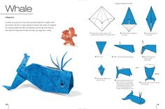 Whale Origami For Beginners - http://www.ikuzoorigami.com/whale-origami-for-beginners/