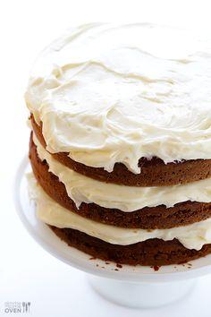 The BEST Carrot Cake Recipe   gimmesomeoven.com