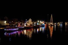 Get the holidays started with the Tree Lighting & Lighted Holiday Boat Parade at Mystic Seaport! On Saturday, Nov. 24, lighted and decorated vessels will parade down the Mystic River and return to the Mystic River Park, where judging and awards will take place for the most spectacular vessels.