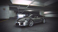 3D car - Porsche 997