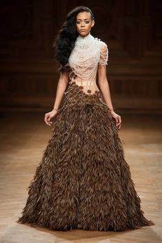 The Best Looks from the Couture Fall Winter 2015 Runway - Elle :: Serkan Cura