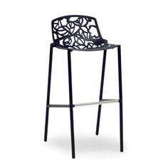 Demeter Metal Modern Barstool #WholesaleInteriors