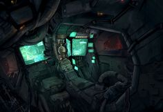 Cockpit by Hadi Jalali
