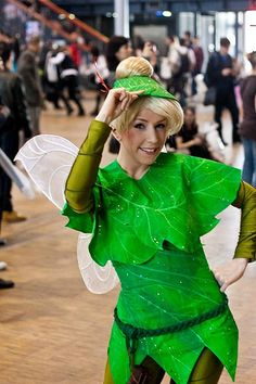diy tinkerbell costumes | Best Costumes Ever: Sprite (Tinkerbell) costume