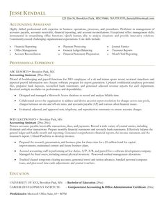 Accounting Resume Tips Impressive Bookkeeper Resume Template Ideas  Httpwww.jobresume.website .