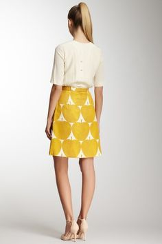 Orla Kiely. Well, if a wealthy benefactor wanted to buy this for me I wouldn't object. Perfect for the first day of teaching!