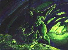 beowulf vs grendels mom
