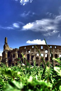 Rome, Italy - The Colosseum or Coliseum....