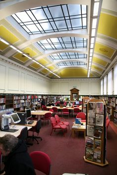 The Reference Library, Crown Street Library, Darlington, UK