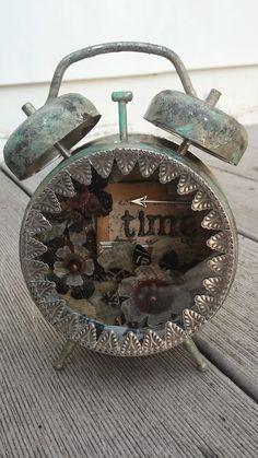 Rhea: CC3C #10 Tim Holtz Clock Assemblage
