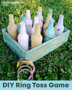 DIY Ring Toss 2019 This fun tropical-colored DIY Vintage Ring Toss is easy to put togetherand will create loads of awesomeness for backyard parties. The post DIY Ring Toss 2019 appeared first on Vintage ideas. Diy Yard Games, Diy Games, Lawn Games, Diy Vintage Rings, Vintage Diy, Vintage Silver, Etsy Vintage, Vintage Style, Backyard For Kids