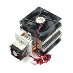 Équipement de refroidissement du radiateur diy électronique semiconducteur réfrigérateur 6A 12v