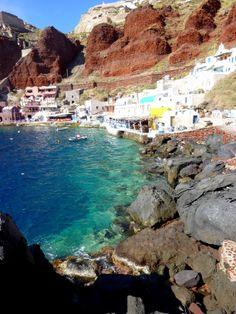 Santorini, Greece  European Travel  Destination Traveling   Serafini Amelia