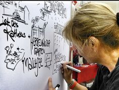Graphic recording. Tanja Föhr
