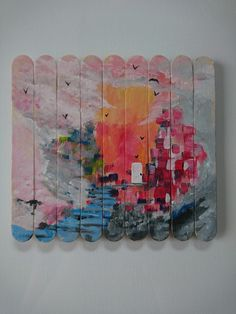 Popsicle Art by Nicole Champion