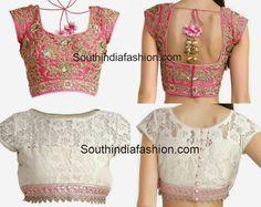 Stylish Designer Blouses by Anushree Reddy ~ Celebrity Sarees, Designer Sarees, Bridal Sarees, Latest Blouse Designs 2014