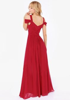 Solid Color Sexy Backless V-neck Party Dress Long Dress - Meet Yours Fashion - 2